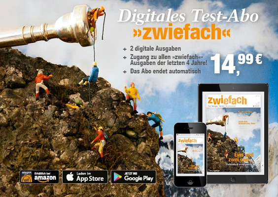 zwiefach digitales Test-Abo