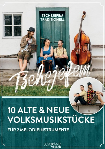Tschejefem traditionell Notenheft – 2 Melodieinstrumente