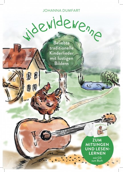 Widewidewenne Set Liederbuch + CD